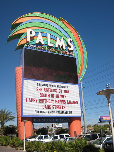Marquee at Cinevegas 2008