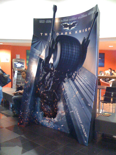 Dark Knight standee