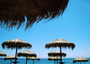Perissa parasols (dckf_$êr@pH!nX) Tags: beach umbrella santorini greece parasol ilove cyclades ilike perissa lpsky