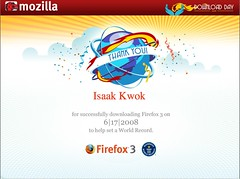 Certificate for downloading Firefox