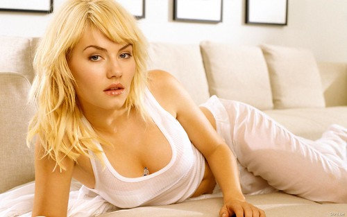 Elisha Cuthbert's Pet Photo
