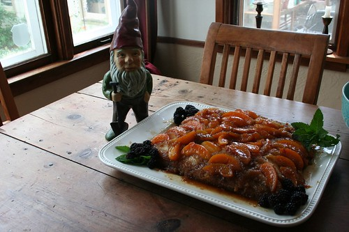 Gnome Guards the Cake