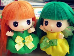 Nice to meet you. ( KawaiiCloud ) Tags: green fairy kawaii cutes ddung