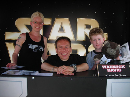Meeting Warwick Davis