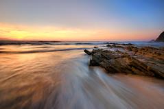 West Coast (Jose Antonio Pascoalinho) Tags: ocean sunset summer seascape beach portugal nature nikon day cloudy atlantic heat environment algarve zedith