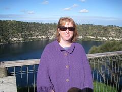 Libby at the Blue Lake