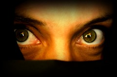 Ojos (Memo Vasquez) Tags: portrait woman face mxico mujer eyes retrato cara ojos mirada rostro misterio memovasquez