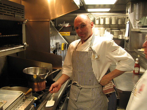 Denis, chef on the Royal Canadian Pacific