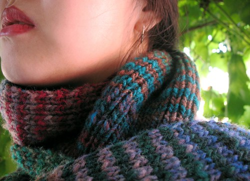 Noro Striped Scarf 01