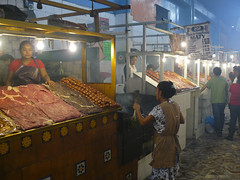 Grilled meat market