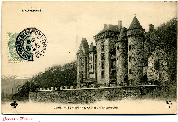 Château d'ANTERROCHE