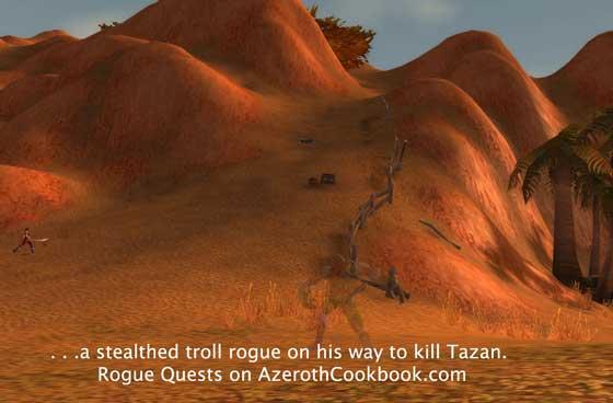 Path to Tazan