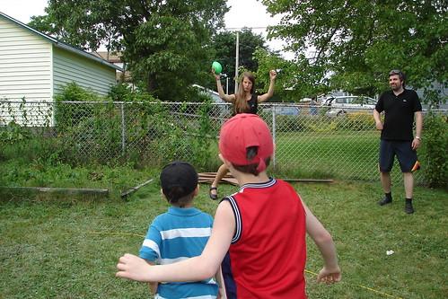 Paula, taunting the children