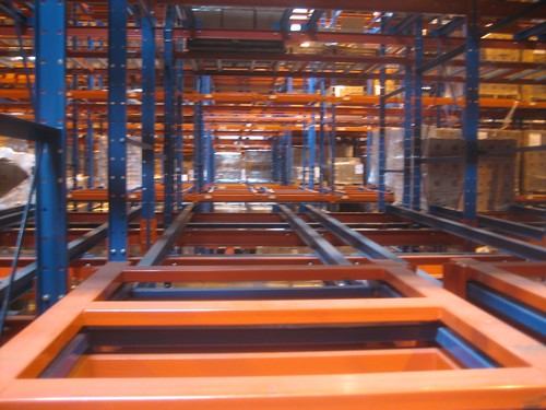 Warehouse Racking Maze