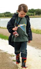 Camera Man (Debs1968) Tags: camera boy child splashing