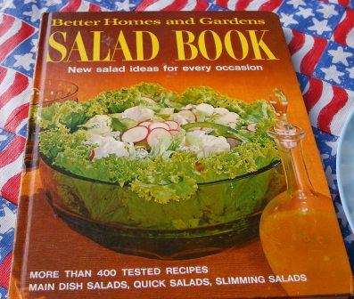 BHG Salad book circa 1967