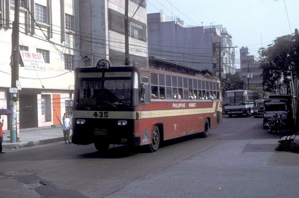 Philippine Rabbit Hino CVC-481 (435) in Oroquieta Street, Santa Cruz, Manila, Philippines.