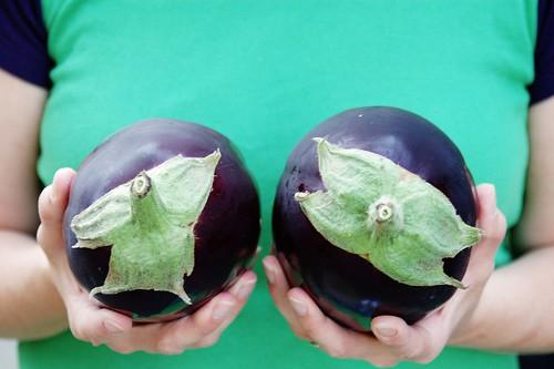 My eggplants.