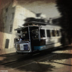 terminal velocity (elijah northen) Tags: sanfrancisco speed trolley streetcar incline braking elijahnorthen hourofthesoul