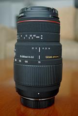 Lens View (CAUT) Tags: lens sigma apo telephotolens macrolens sigmalens apodg sigmaaf70300mmf456apodgmacro sigmaapodg