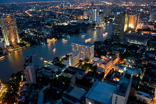 Bangkok Skyline 4 by Swami Stream, on Flickr