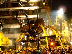 La Machine - La Princesse (Shertila Tony) Tags: liverpool arachnid culture horror invasion concourse 08 limestreet hgwells lamachine inliverpool buildingliverpool leprincesse