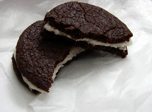 Inside Chocolate Trucker Cookie