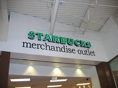 Starbucks outlet?