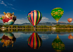 The Ark (iceman9294) Tags: blue red sky hot color festival balloons nikon bravo colorado searchthebest air hotair balloon coloradosprings hotairballoon hotairballoons ballooning memorialpark d300 coloradoballoonclassic prospectlake visiongroup vision100