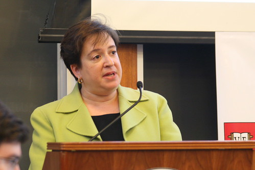 Supreme court justice nominee Elena kagan