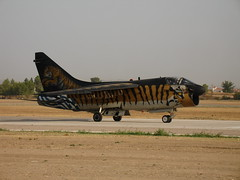 "A-7 CORSAIR  ""TIGER"" (ozzy2006_gr) Tags: airshow haf tanagra a7corsair hellenicairforce"