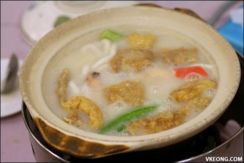 porridge steamboat