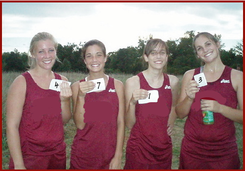 XC girls fake numbers
