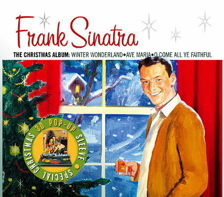 Christmas Album Cover Images.Coolness Is Timeless Frank Sinatra Christmas Album Covers