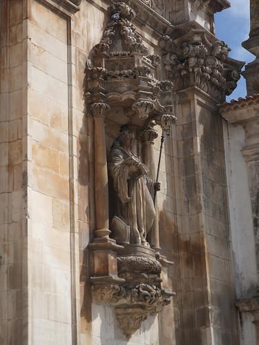 Estátua da fachada