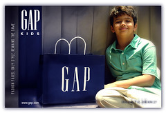 G A P ... K I D S (Bally AlGharabally) Tags: kids angel photographer sweet designer small gap hashim rai advertisment kuwaiti bally gharabally algharabally hashoooome
