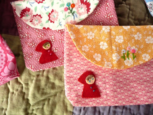 Little Red Riding Hood Pouches