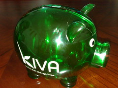 Kiva Piggy Bank [Photo by liewcf] (CC BY-SA 3.0)