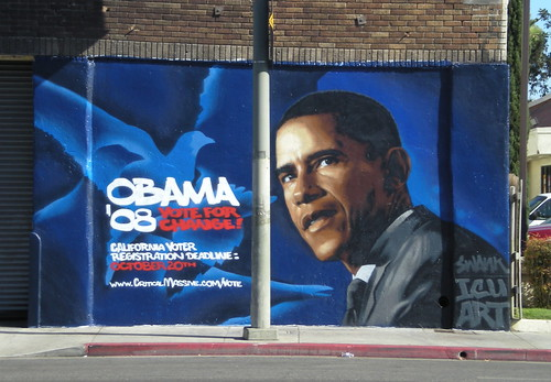 Obama Street Art by ICU from Jinamae on Flickr