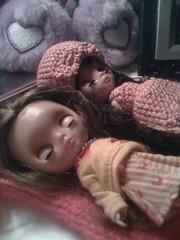 Melinda and Allison sleeping