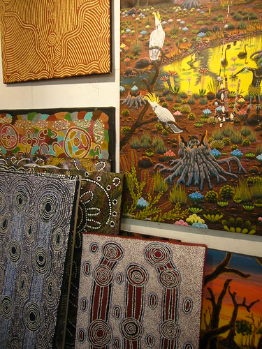 blog voyage australie sydney whv backpacker travel galerie aborigene art peinture