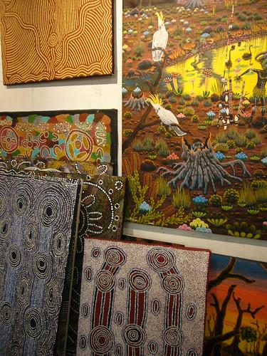 blog voyage australie sydney whv backpacker travel galerie aborigene art peinture