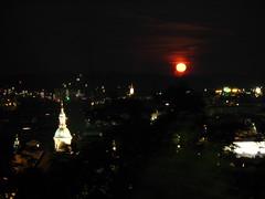 2007 07 01 - 0575 - Graz - View from Schlossberg (thisisbossi) Tags: moon night austria österreich graz moonillusion
