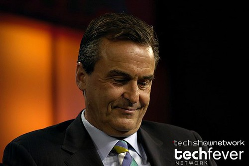 Nortel CEO Mike Zafirovski at CTIA WIRELESS by TechShowNetwork.
