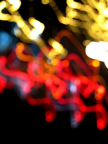Bokeh Light At Night