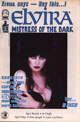 Elvira, Mistress of the Dark #3 cover