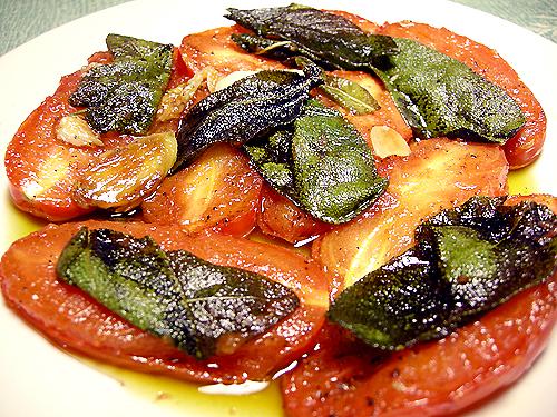 油煎鼠尾草番茄-Italy-081004