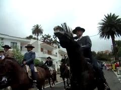 15 Llegada Teror romeros a caballo Rocio Chico 2008 Gran Canaria (Rafael Gomez - http://micamara.es) Tags: horses horse animals caballo caballos video y folklore gran animales chico videos canaria rocio llegada romeros teror   carretas