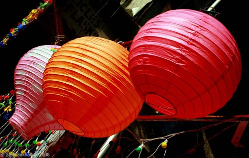 pink red orange shopping colorful balloon diwali