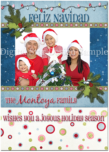 Holiday Card Sample 3, 4x6 (web size)